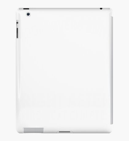 Book lovers unite right after this next chapter iPad Case/Skin
