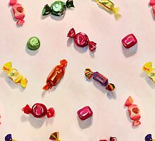 Sweet Candy Painted Pattern by micklyn