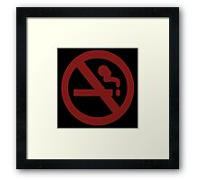 Marceline No Smoke Framed Print