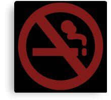 Marceline No Smoke Canvas Print