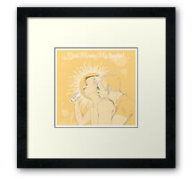 Mystrade - Good Morning My Sunshine Framed Print