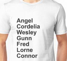 Angel Cast Unisex T-Shirt