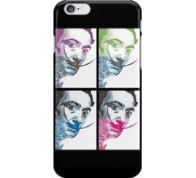 Salvador Dali via Picasso iPhone Case/Skin