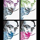 Salvador Dali via Picasso by BCallahan