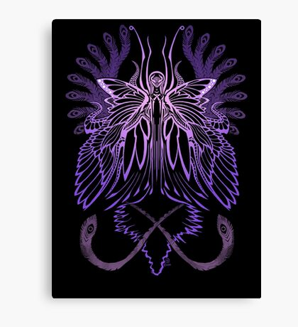 Mab the Queen of Fey (High Purple) Canvas Print