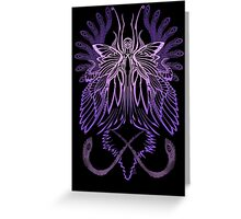 Mab the Queen of Fey (High Purple) Greeting Card