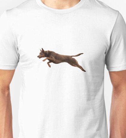 Kelpie Leaping Unisex T-Shirt