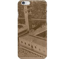 Vintage view of Venice,Italy iPhone Case/Skin