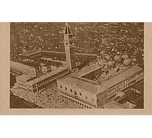 Vintage view of Venice,Italy Photographic Print
