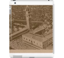 Vintage view of Venice,Italy iPad Case/Skin