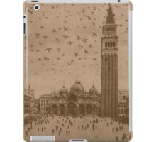 Vintage church of saint Marco and tower bell,Venice,Italy iPad Case/Skin