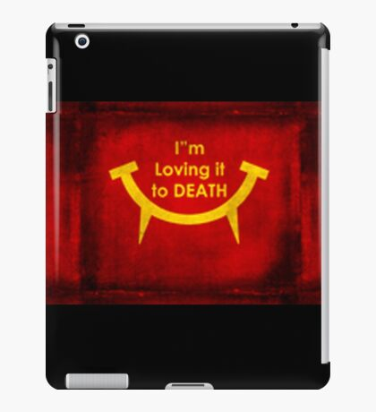Fast food for Zombies iPad Case/Skin