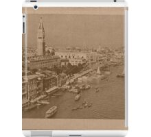 The Grand Canal aeral view,Venice,Italy iPad Case/Skin