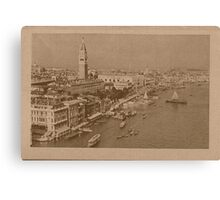 The Grand Canal aeral view,Venice,Italy Canvas Print