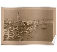 The Grand Canal aeral view,Venice,Italy Poster