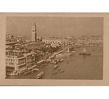 The Grand Canal aeral view,Venice,Italy Photographic Print