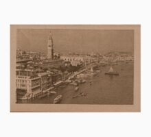 The Grand Canal aeral view,Venice,Italy Kids Clothes