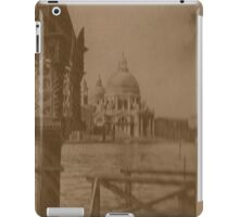 The church of Salute,Venice,Italy iPad Case/Skin