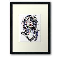 Aaliyah Dana Haughton Framed Print