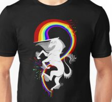 Lord Rainbow Kicker (white) Unisex T-Shirt