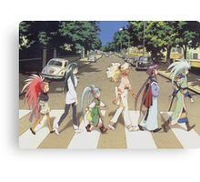 Tenchi Road Canvas Print