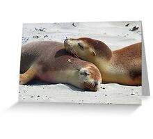 Sibling love ! Greeting Card