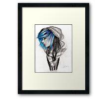 Blue Highlights Framed Print