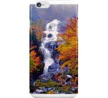 Shooting In the Autumn Rain iPhone Case/Skin