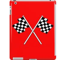 chequered flags , Grand Prix , Motor , Scooter , motorcycle , racing car , sports  iPad Case/Skin