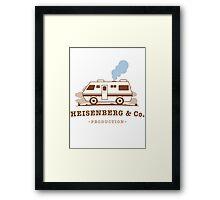 Heisenberg & Co. Framed Print