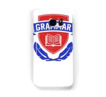 Grammar police academy Samsung Galaxy Case/Skin