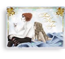 Sweet Tea-Kiss Canvas Print