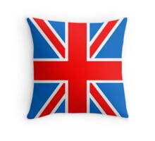 Union Jack Flag,Great Britain, England,Scotland, Wales, Northern Ireland, Country , Punk, Mod Throw Pillow