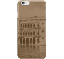 Contarini Palace,Venice,Italy iPhone Case/Skin