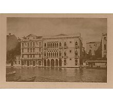Contarini Palace,Venice,Italy Photographic Print
