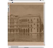 Contarini Palace,Venice,Italy iPad Case/Skin