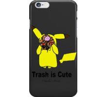 Trash is cute iPhone Case/Skin