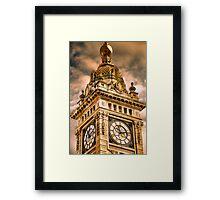 Brighton Clock Tower Framed Print