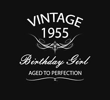 Vintage 1955 Birthday Girl Aged To Perfection Womens Fitted T-Shirt