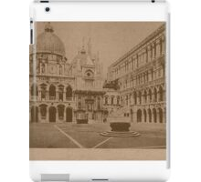 The court-yard of Doges' Palace,Venice,Italy iPad Case/Skin