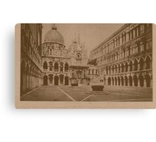 The court-yard of Doges' Palace,Venice,Italy Canvas Print