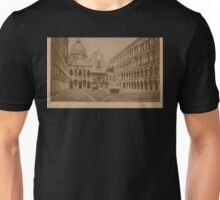 The court-yard of Doges' Palace,Venice,Italy Unisex T-Shirt