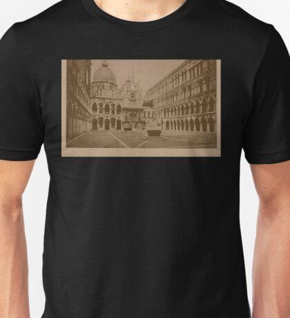 The court-yard of Doges' Palace,Venice,Italy Unisex T-Shirt