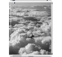 High flight Spitfire black and white version iPad Case/Skin
