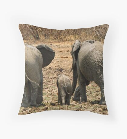 Our Best Side Throw Pillow
