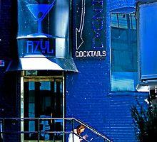 Feeling Blue?  A WiFi Hotspot in San Francisco by Buckwhite