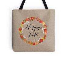 Happy Fall Tote Bag