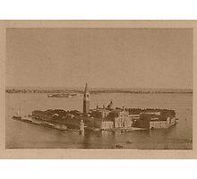 Isle of Saint George,Venice,Italy Photographic Print