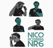 NR6- Nico Rosberg Baby Tee