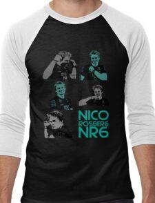 NR6- Nico Rosberg Men's Baseball ¾ T-Shirt